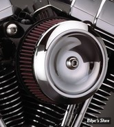 - FILTRE A AIR - S&S - STEALTH S&S SUPERSTOCK - SPORTSTER 91UP - AVEC CACHE : DISHED BOBBER / CHROME