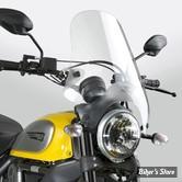 PARE BRISE NATIONAL CYCLE - Street Shield™ U-Clamp Mount - DETACHABLE - POUR GUIDON DE : 22mm / 25.40mm - COULEUR  : CLAIR - N25000