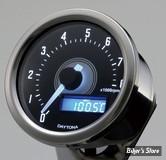 -  VELONA - COMPTE TOURS VELONA / DAYTONA - VELONA 60MM TACHOMETER - 8000 TR/M - LED BLANC -  INOX POLI - 85835