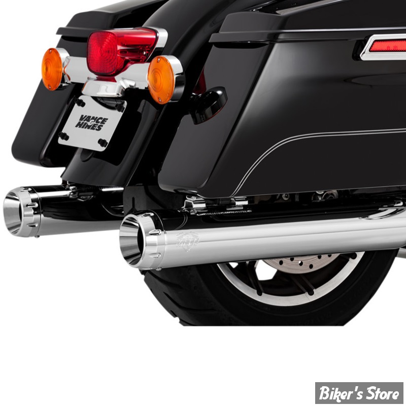 SILENCIEUX - VANCE & HINES - DAYTONA 400 - TOURING 17UP MILWAUKEE-EIGHT® - CHROME - 16583
