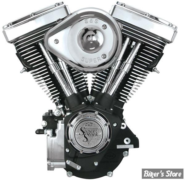 EVO - V80 - MOTEUR S&S 1340CC - NOIR WRINKLE - COMPLET - 310-0238
