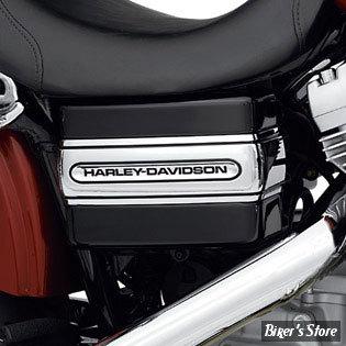 Bande de Cache-Batterie logo Harley-Davidson - Dyna à partir de 2006