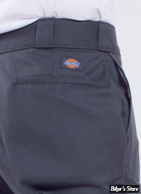 PANTALON - DICKIES - TRADITIONAL WORK PANT - 874 O-DOG - COULEUR : CHARCOAL - TAILLE US 30/32