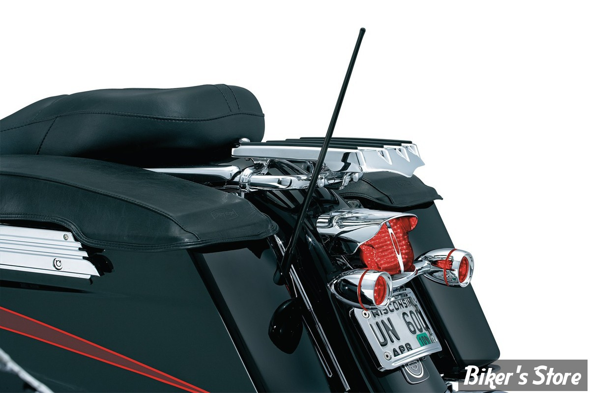ANTENNE DOUBLE FONCTIONS FLEXIBLE - POUR TOURING / INDIAN / VICTORY - KURYAKYN  - 865