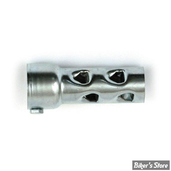 """Chicane acier - Diamètre : Pour Collecteur de 1 3/4"""" de diamètre - Longueur : 10cm"""