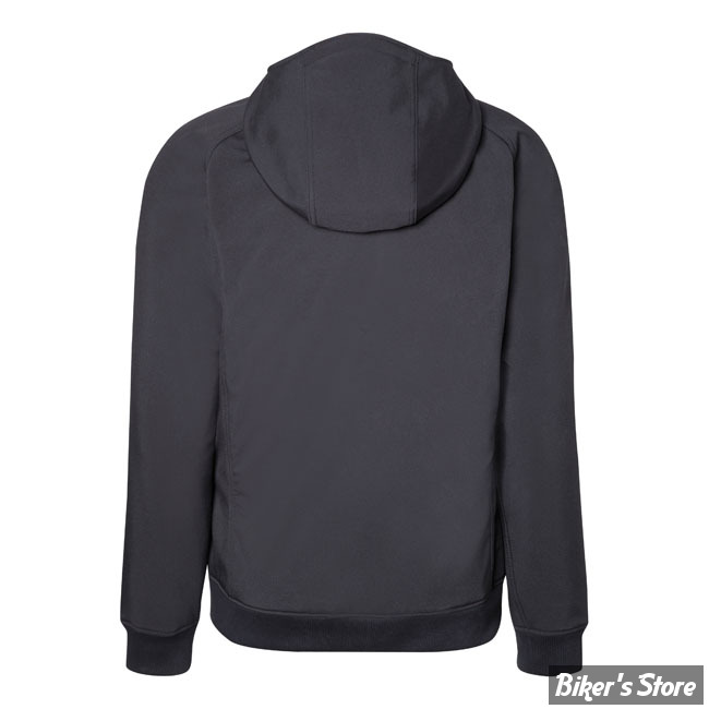 368f049d5627 SWEAT SHIRT ZIPPE - JOHN DOE - SOFTSHELL HOODIES BLACK - COULEUR   NOIR - TAILLE  9   XXXXXL. SWEAT SHIRT ZIPPE - JOHN DOE - SOFTSHELL HOODIES BLACK ...