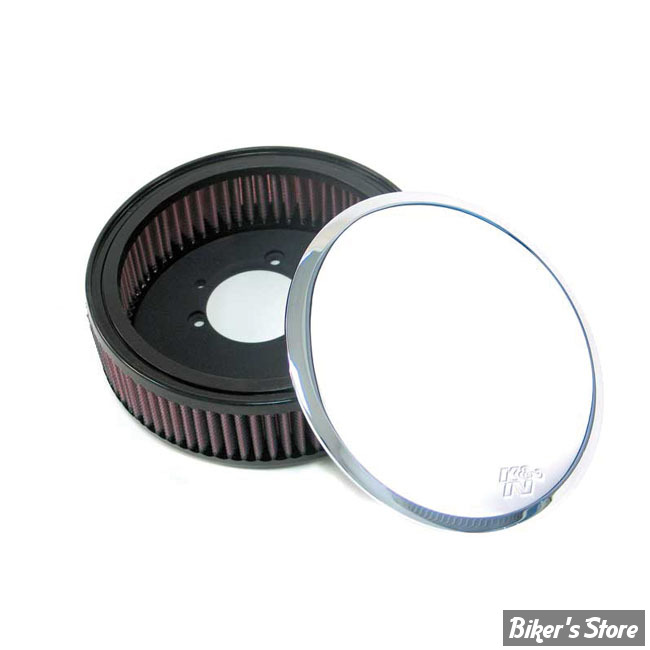 filtre a air k n sportster 91up street metal weld chrome biker 39 s store. Black Bedroom Furniture Sets. Home Design Ideas