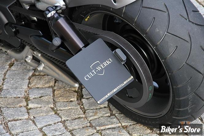 plaque laterale cult werk dimensions 180 x 200 led t v v rod 02 13 biker 39 s store. Black Bedroom Furniture Sets. Home Design Ideas