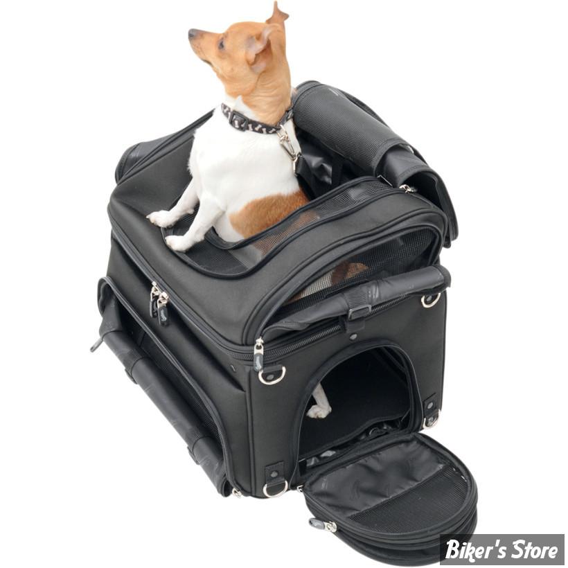 sac pour animaux de compagnie saddlemen pet voyager biker 39 s store. Black Bedroom Furniture Sets. Home Design Ideas