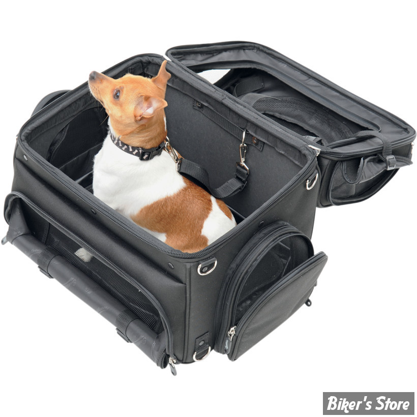 sac pour animaux de compagnie saddlemen pet voyager biker 39 s store. Black Bedroom Furniture Sets. Home Design Ideas