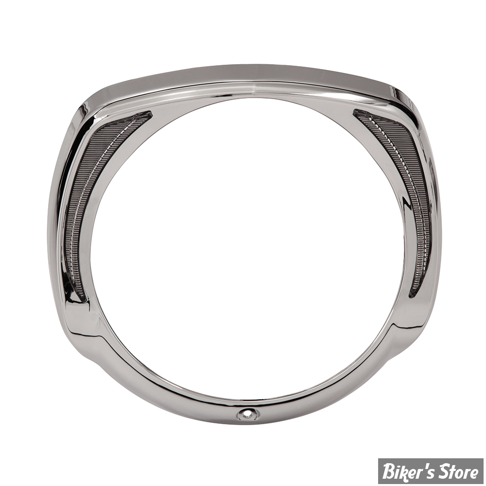 7 - CERCLAGE AVEC ECLAIRAGE - TOURING 14UP - CIRO PRODUCT - HEADLIGHT BEZEL - CHROME - 45200