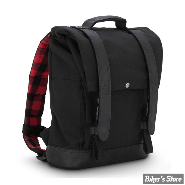 SAC BURLY BRAND - BURLY VOYAGER BACK PACK - SAC A DOS - NOIR - B15-1020B