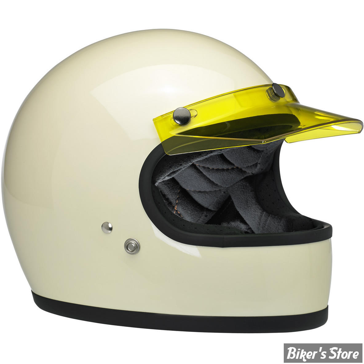 biltwell casque jet biltwell a visiere moto visor couleur jaune biker 39 s store. Black Bedroom Furniture Sets. Home Design Ideas