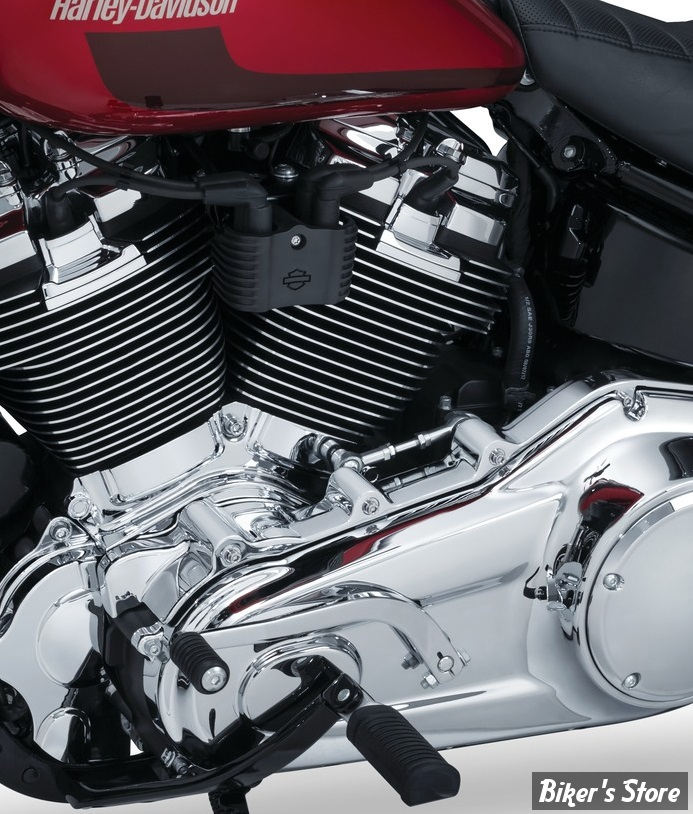 CACHE CARTER PRIMAIRE SUPERIEUR - KURYAKYN - SOFTAIL  Milwaukee-Eight® 18UP - Precision™ Inner Primary Cover - CHROME - 6450