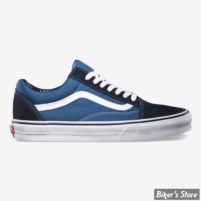 chaussures vans old skool couleur bleu marine navy pointure 40 5 us 8 biker 39 s store. Black Bedroom Furniture Sets. Home Design Ideas