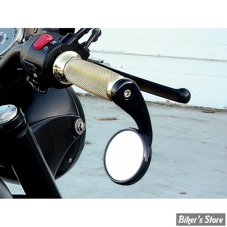 retroviseur de guidon todds cycle shooter bar end cote droit noir biker 39 s store. Black Bedroom Furniture Sets. Home Design Ideas