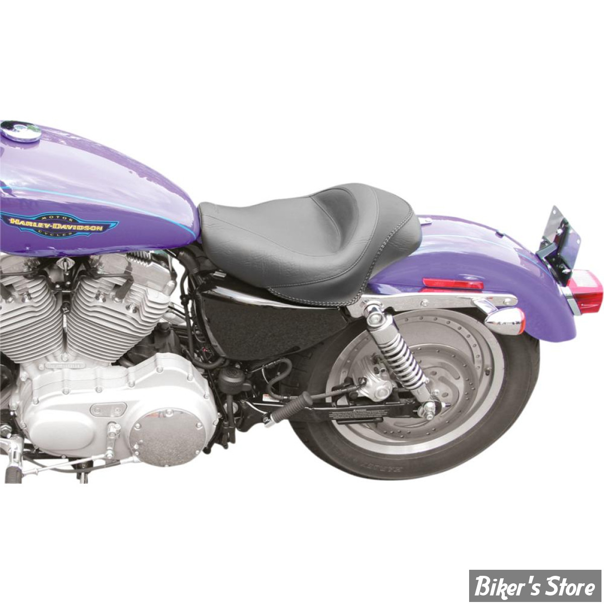 selle mustang sportster 04up vintage solo standard 12 5 76159 biker 39 s store. Black Bedroom Furniture Sets. Home Design Ideas
