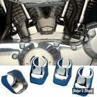 ECLATE H - PIECE N° 13 - Couvres embases de poussoirs - Sportster 86/90 - Chrome
