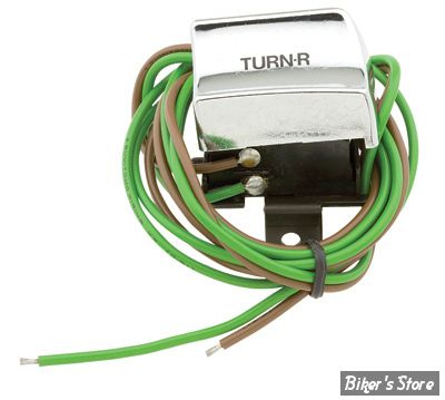 ECLATE L - PIECE N° 27 - Interrupteur Cligno droit - 82-95 - Chrome
