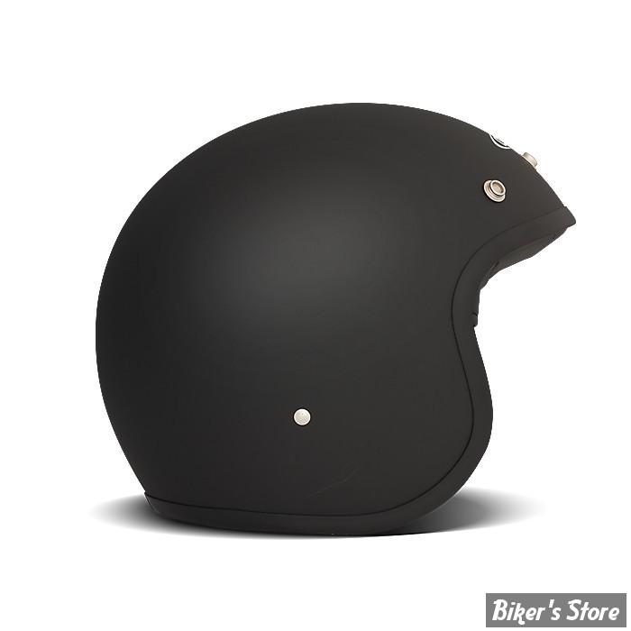 6537322bff9f5a CASQUE JET - DMD - VINTAGE - SOLID MATT BLACK - COULEUR   NOIR - TAILLE 5    XL