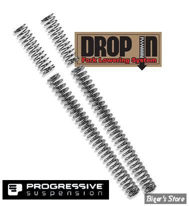ECLATE N - PIECE N° 17 - Kit de Rabaissement - 39mm - Progressive Suspension Drop In