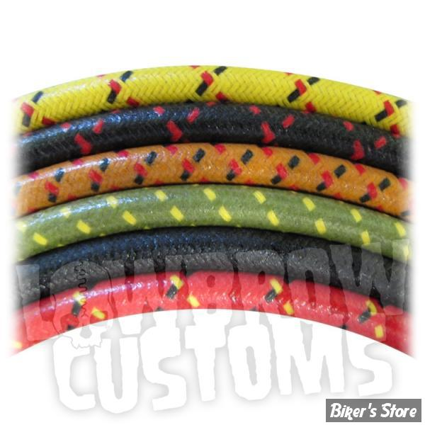 fils de bougies pi ces et accessoires cable toil lowbrow customs noir biker 39 s store. Black Bedroom Furniture Sets. Home Design Ideas